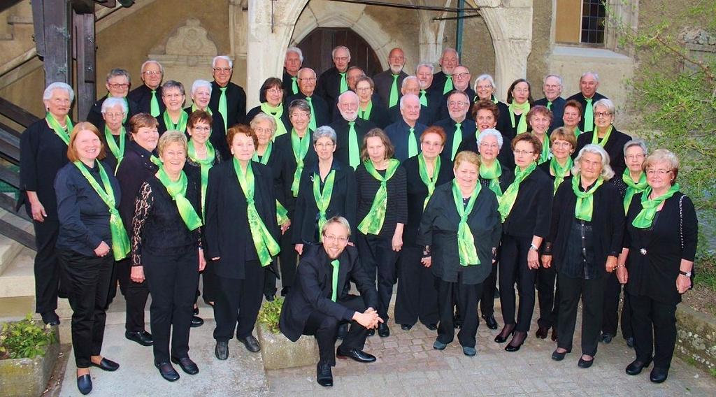 der Kreis-Chor im Jahr 2017